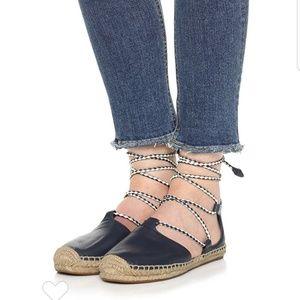 Tori Burch Positano Espadrilles Size 7